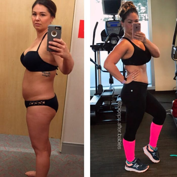 Macro Coaching success stories featured by top online macro coach, Amber of Biceps After Babies: Kristin