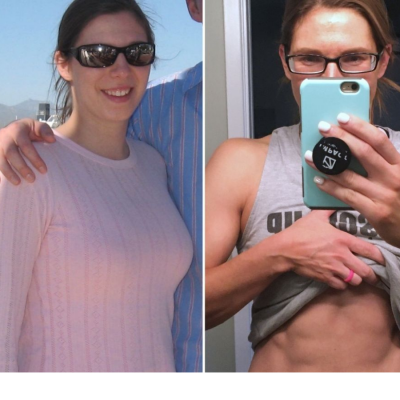 How to Get A Six Pack featured by top US macro coach Amber of Biceps After Babies.