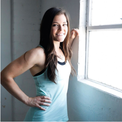 Postpartum Fitness Tips featured by Beck Burgess with top US macro coach, Amber of Biceps After Babies.