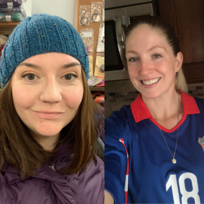 Real Life Transformation with Megan Russell and Erin Djurkinjak featured on top US fitness podcast, Biceps After Babies.