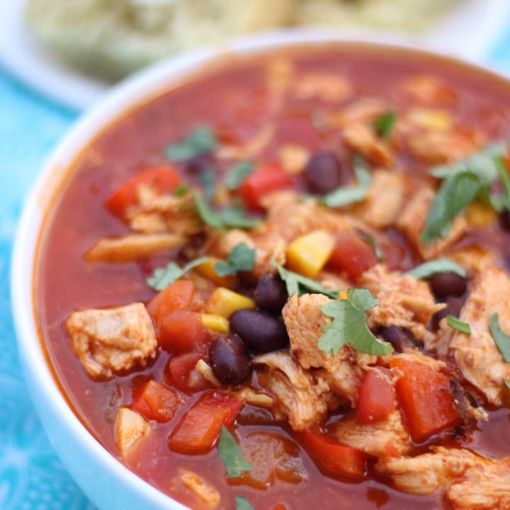 Chicken Enchilada Soup {Instant Pot, Stove top, or Crockpot}
